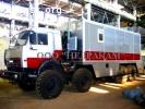 Агрегат исследования газовых скважин на шасси Камаз 43114