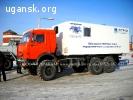 Агрегат исследования газовых скважин на шасси Камаз 43118