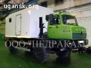 Агрегат исследования газовых скважин на шасси Урал 4320