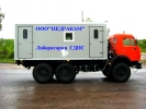 Автомобиль исследования газовых скважин на шасси Камаз