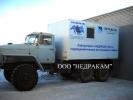 Каротажный подъемник (лаборатория гис) шасси Урал