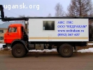Подъемник исследования газовых скважин на шасси Камаз 43118