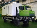 Подъемник исследования нефтяных скважин на шасси Урал 43206