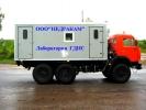Подъемник исследования скважин на шасси Камаз 43114